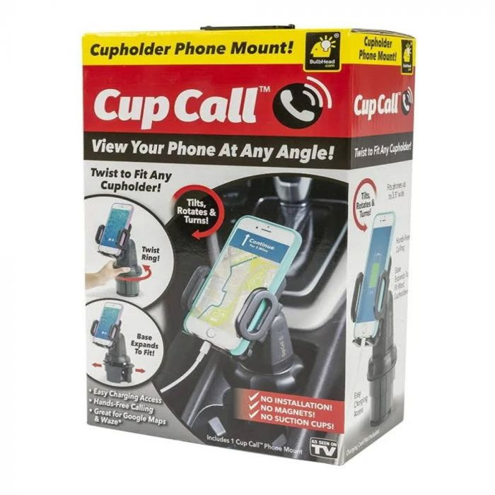 Cup Call Phone Holder