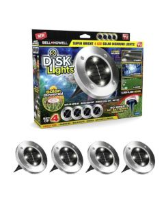 As Seen on TV Path Disk Lights Silver