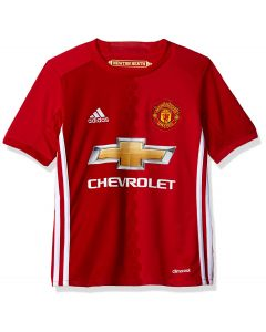 Adidas 2016-17 Manchester United Youth Home Stadium Jersey - Small
