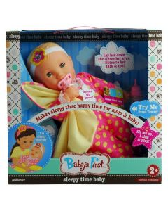 Goldberger Baby's First Sleepy Time Baby