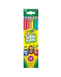 Crayola Silly Scents Twistables Colored Pencils - 12 Count
