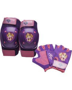 Paw Patrol Skye Protective Pad Set - Purple/Pink