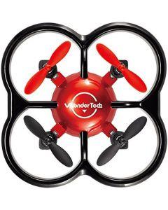 WonderTech W100 Firefly 2.4 GHZ 6 Axis Gyro Nano Drone - Blue/Red