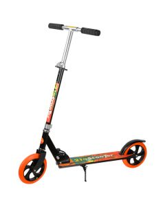 Adult Kick Scooter - Black / Orange