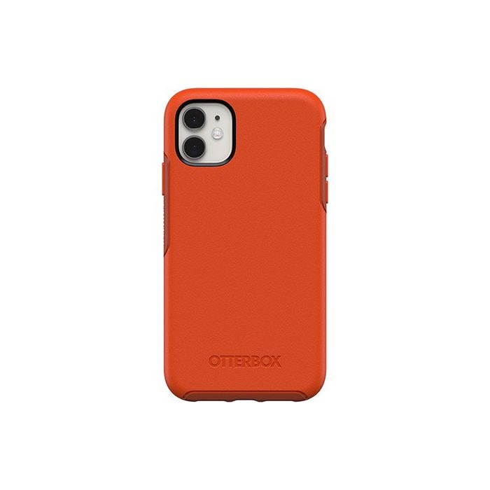 OtterBox iPhone 11 Symmetry Series Case - Risk Tiger Red / Orange