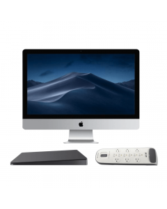 "Apple iMac Bundle: Apple® 27"" iMac Retina 5K Display + Belkin 12-Outlet Surge Protector with USB Charging + Apple Magic Trackpad 2"