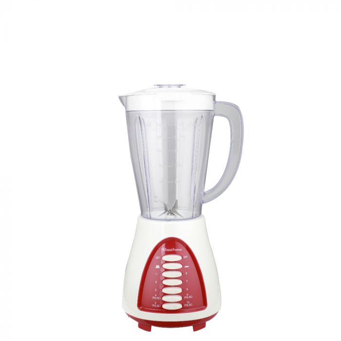 Best Home Blender 10Spd White Plastic Jar