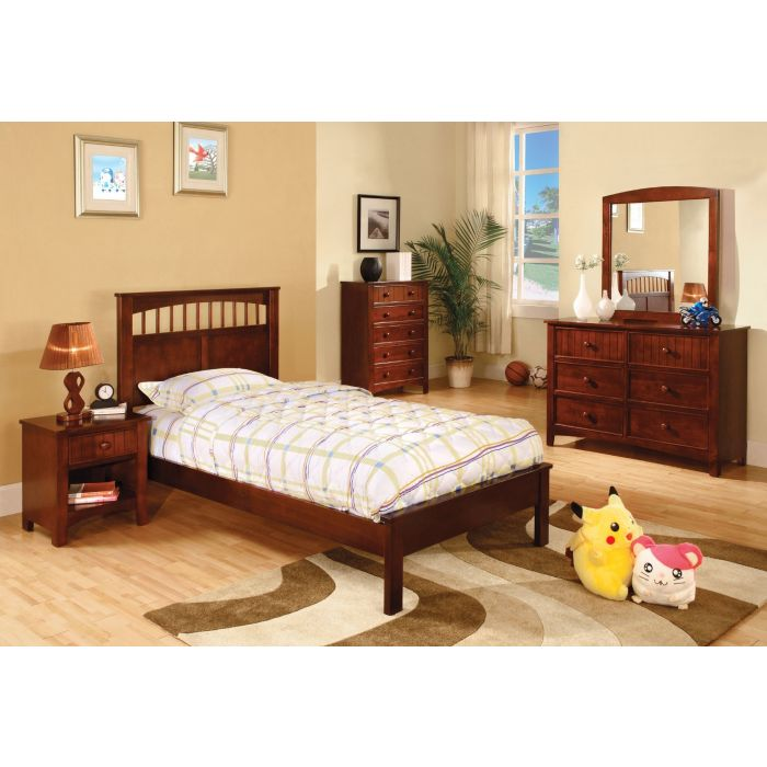 Cherry 6PC Twin Bedroom Set