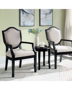 Emma Accent Table & Chair 3 Piece Set