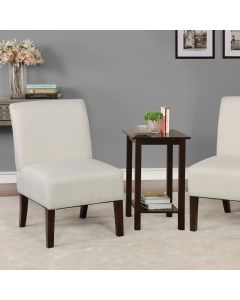 Elias Accent Table + 2 Chairs