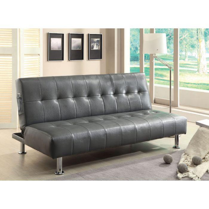 Contemporary Grey Sofa Bed