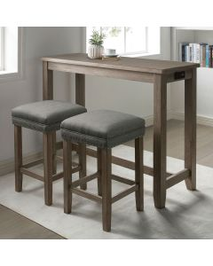 Caerleon Counter Height Table Set - 3 Piece Set