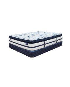 Comfort Bedding  iBed Pillow Top Luxury Mattress Set - Queen