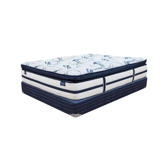 Comfort Bedding  iBed Pillow Top Luxury Mattress Set - Full