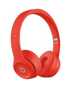 Beats Solo3 Wireless On- Ear Headphones -  Apple W1 Headphone Chip, Class 1 Bluetooth Red
