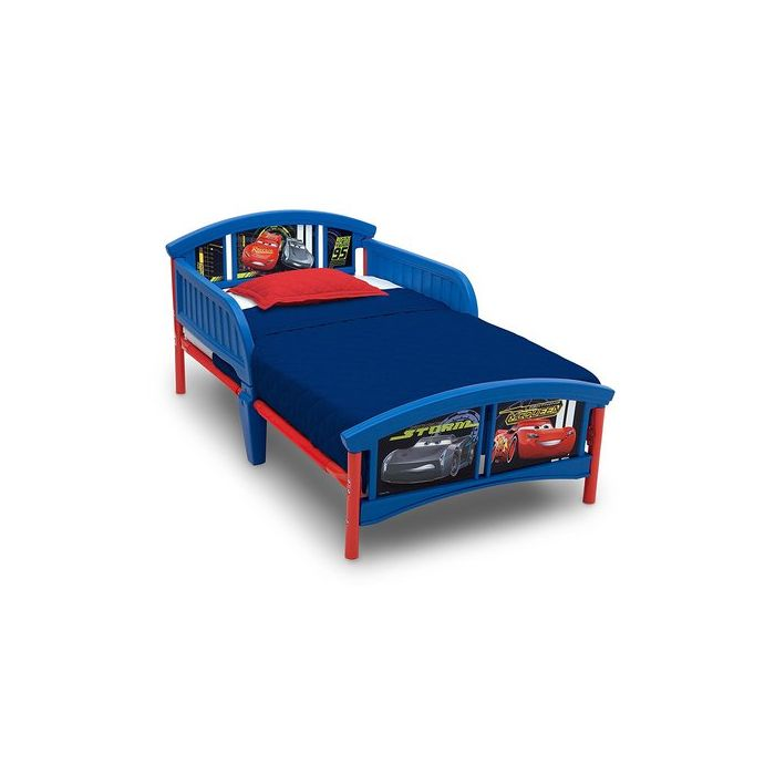 Delta Children Cars Plastic Toddler Bed - Disney/Pixar Cars