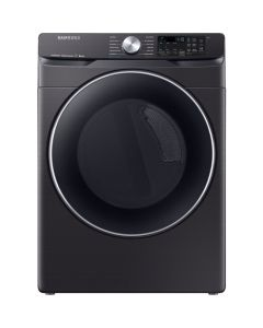 Samsung DVG45R6300V 7.5 Cu. Ft. 12-Cycle Gas Dryer with Steam - Fingerprint Resistant Black Stainless Steel