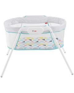 Fisher-Price Stow 'N Go Bassinet - White