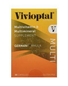 Vivioptal Multi 30 Capsules Multivitamin and Multimineral Supplement