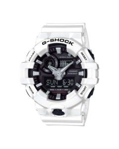 Casio G-Shock Men's Super Illuminator Analog Digital Resin Strap Wath - White