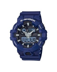 Casio G-Shock Men's Super Illuminator Analog Digital Resin Strap Wath - Blue