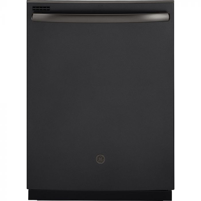 """GE GDT605PFMDS 24"""" Top Control Tall Tub Built-In Dishwasher - Black Slate"""