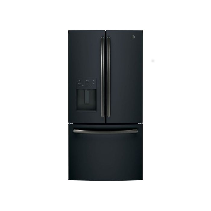 GE 25.6 Cu. Ft. French Door Refrigerator - Black Slate