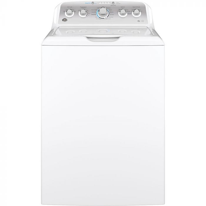 GE GTW500ASNWS 4.6 cu. ft. Washer with Stainless Steel Basket - White