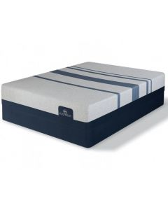 Serta Icomfort Foam Blue 300 Firm Complete Mattress Set - Calking