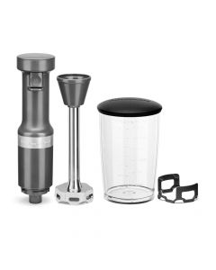 KitchenAid KHBV53 Variable Speed Corded Hand Blender - Charcoal Cray