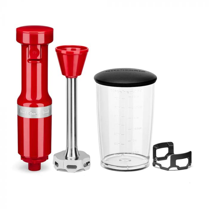 KitchenAid KHBV53 Variable Speed Corded Hand Blender - Empire Red