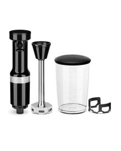KitchenAid KHBV53 Variable Speed Corded Hand Blender - Onyx Black