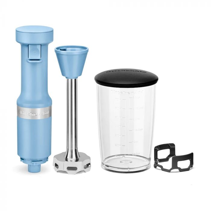 KitchenAid KHBV53 Variable Speed Corded Hand Blender - Blue Velvet