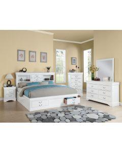 Louis Philippe 6PC Queen Bedroom Set
