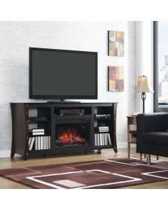 "Marlin 66"" TV Stand with Fireplace"