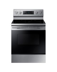 Samsung NE59M4320SS 5.9 Cu. Ft. Convection Freestanding Electric Range - Stainless Steel