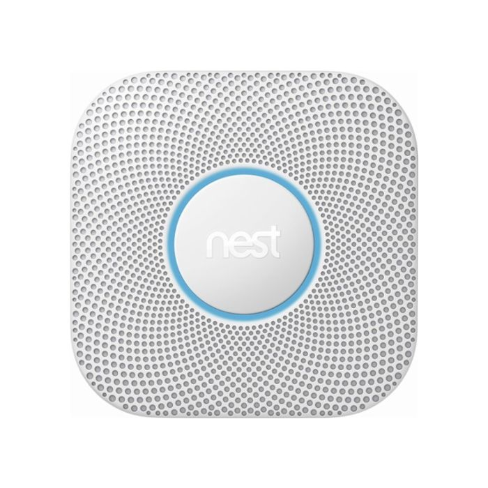 Nest Protect Smart Smoke and Carbon Monoxide Alarm 2nd Generation - White