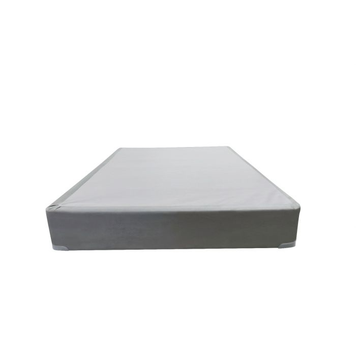 """Silver Rest Gray 9"""" Foundation - Twin"""