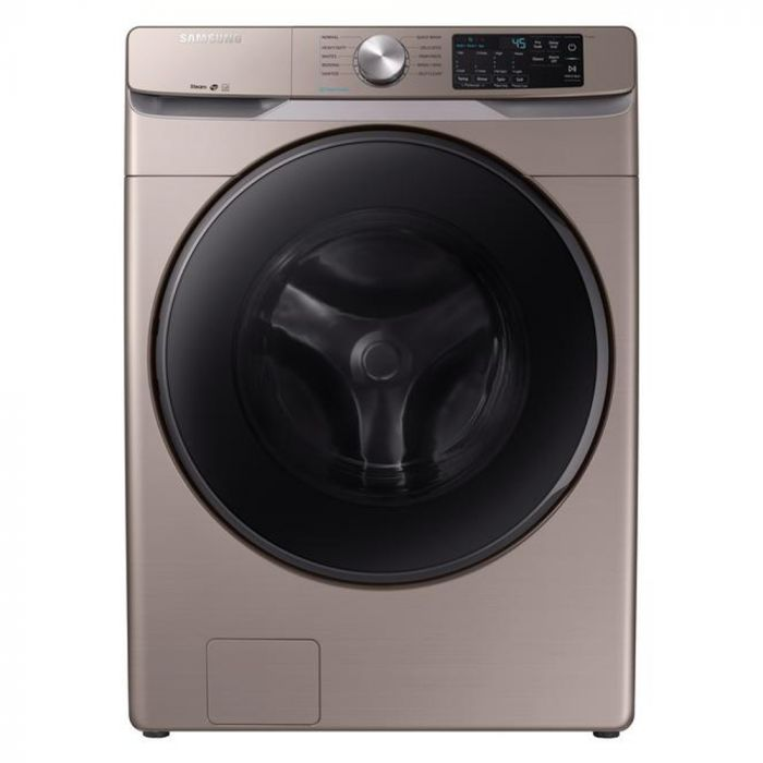 Samsung WF45R6100AC 4.5 cu. ft. High-Efficiency Front Load Washer- Champagne