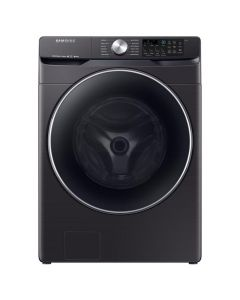 Samsung WF45R6300AV 4.5 cu. ft. High-Efficiency Front Load Washer - Black Stainless