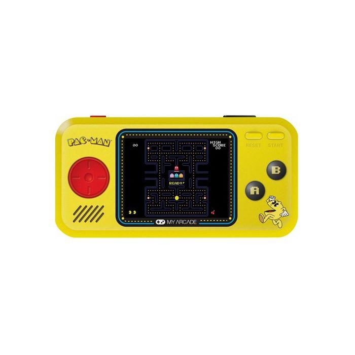My Arcade Pac Man Pocket Player Portable Gaming System Yellow Black