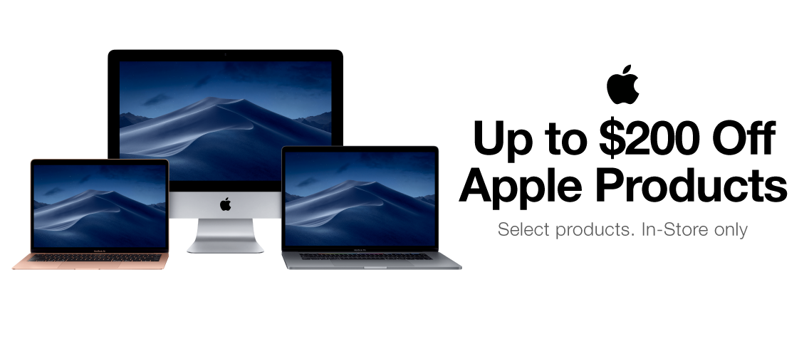 Apple $200 Off