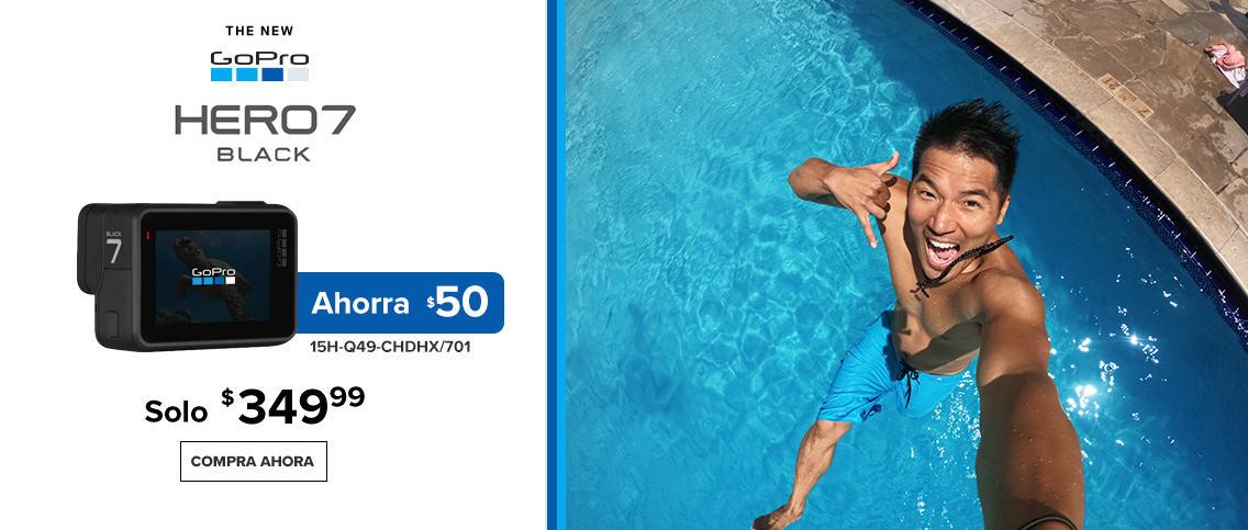 GoPro Hero Black 7 - $50 OFF