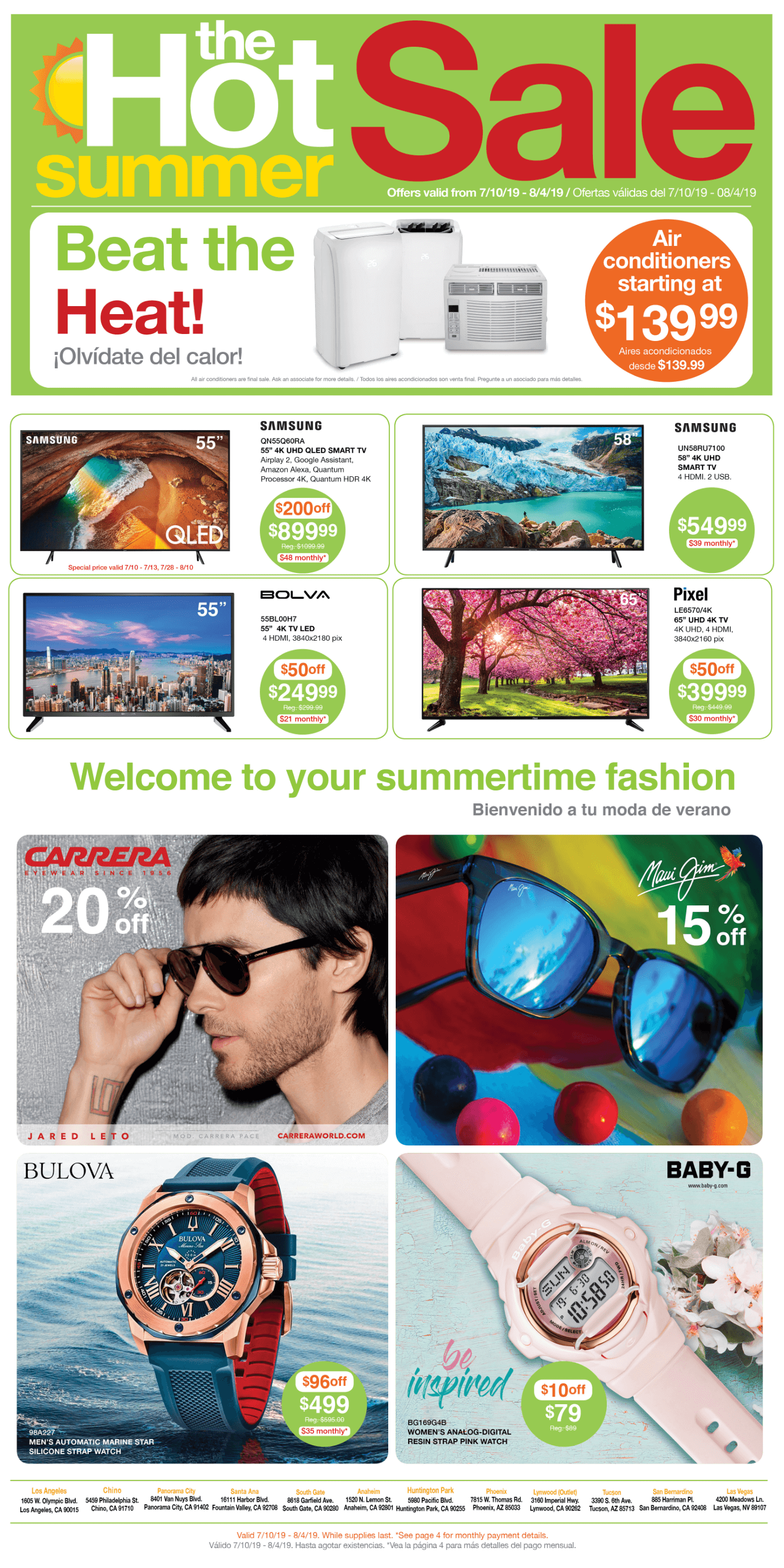 Curacao | Summer Catalog Page 1