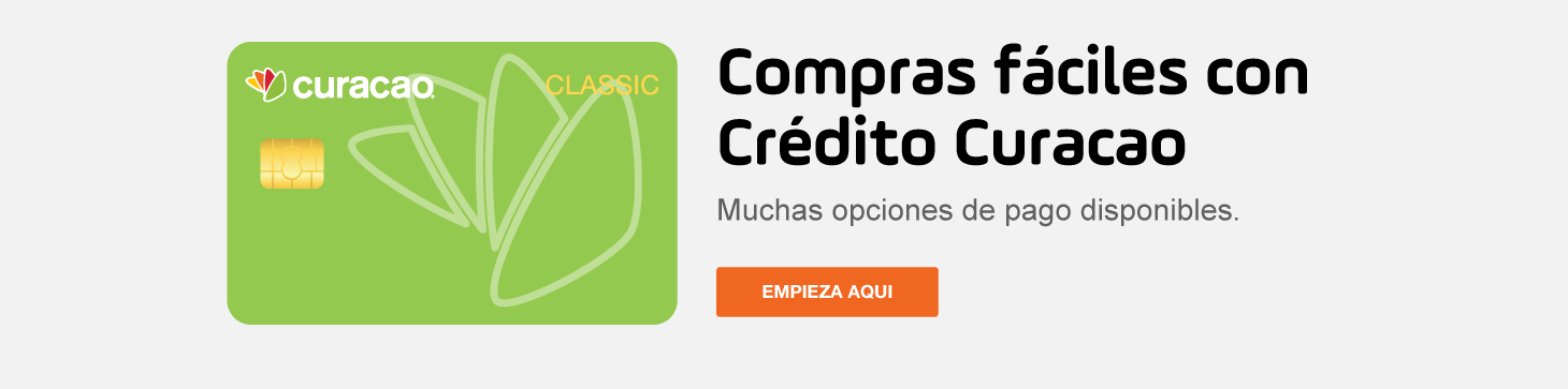 Make shopping easy with Curacao Credit