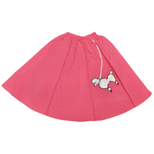Poodle Skirt Pink 1 Sz Child
