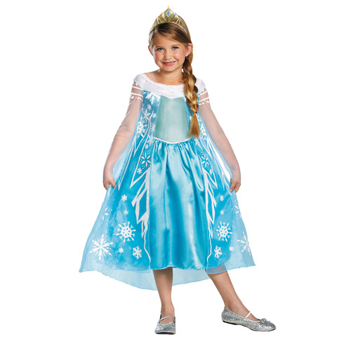 Frozen Elsa Child Deluxe 7-8