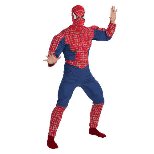 Spiderman Muscle Chest Adult 002E3E0392