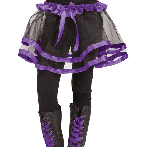 Ribbon Tutu Child Purple