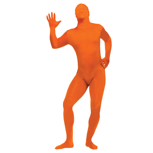 Skin Suit Orange Adult Std 002FSZ0392